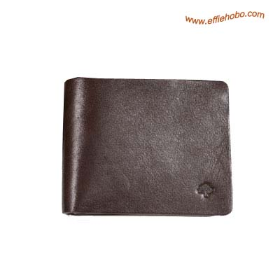 Mulberry Mens Mini Tri Fold Wallet Brown
