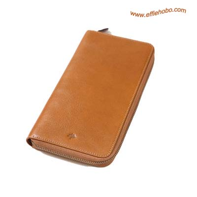 Mulberry Zip Around Travel Wallet Oak