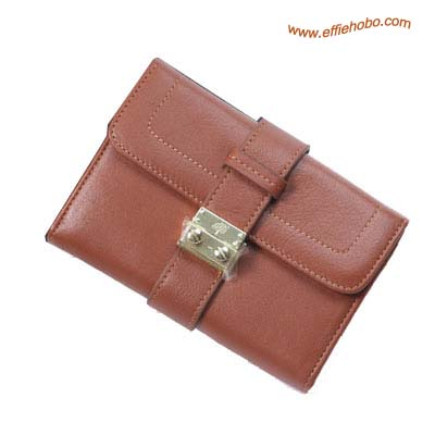 Mulberry Small Buckle Lock Purse Oak