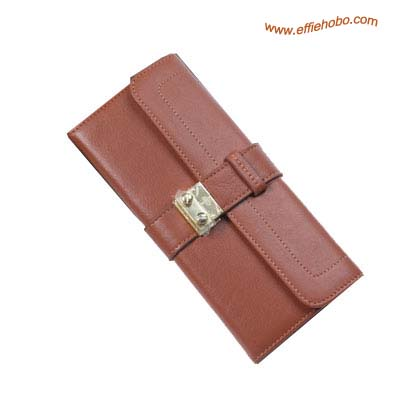 Mulberry Buckle Lock Purse Oak