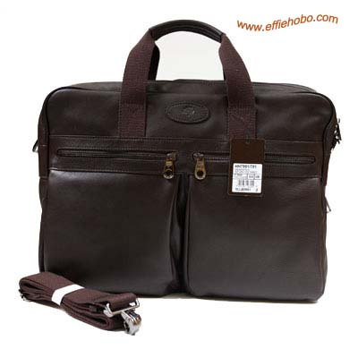 Mulberry Men's Henry Overnight Briefcase Brown