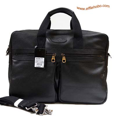 Mulberry Men's Henry Overnight Briefcase Black