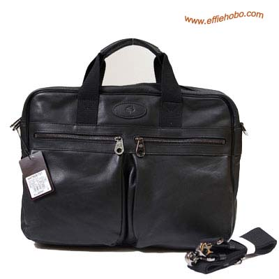 Mulberry Men's Henry Laptop Briefcase Black