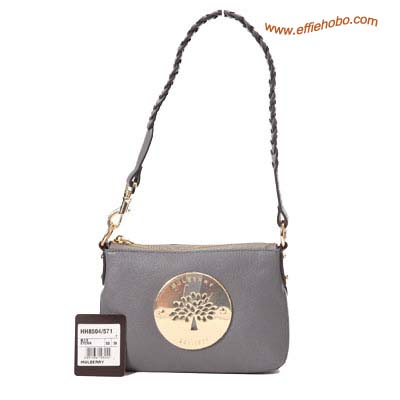 Mulberry Daria Wrist Clutch Bag Gray