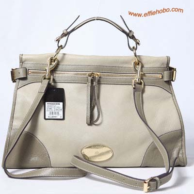 Mulberry Oversized Taylor Satchel Bag Khaki