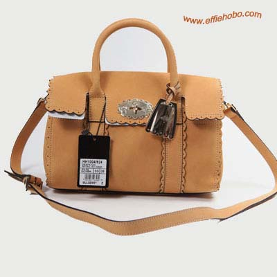 Mulberry Bayswater Satchel Bag Oak