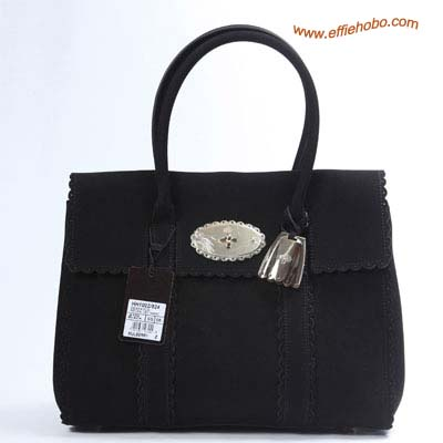 Mulberry Bayswater Tote Bag Black