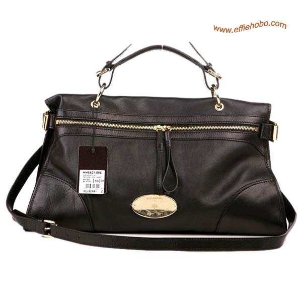 Mulberry Taylor Satchel Bag Black