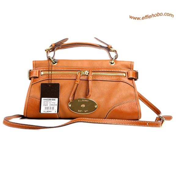 Mulberry Small Taylor Satchel Bag Oak