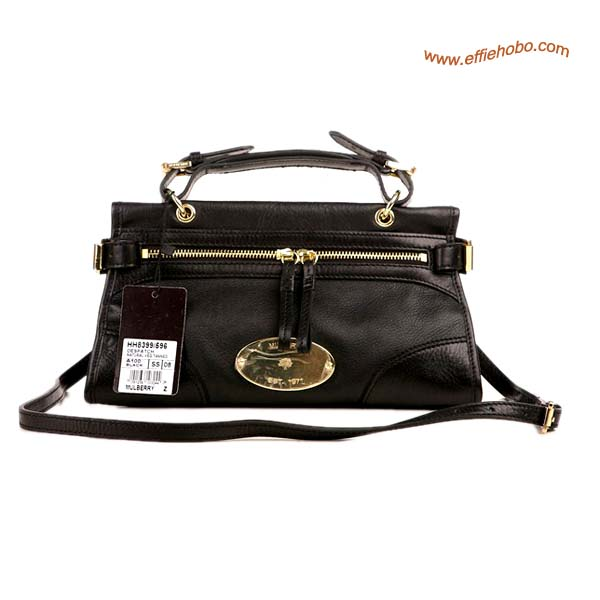 Mulberry Small Taylor Satchel Bag Black