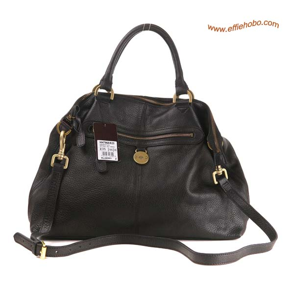 Mulberry Somerset Shopper Bag Black