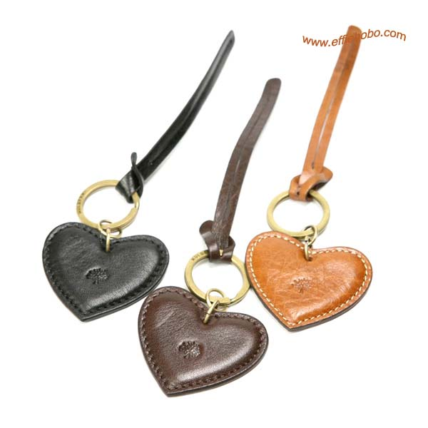 Mulberry Heart Fob KeyRing