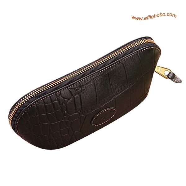 Mulberry Zip Around Purse Black