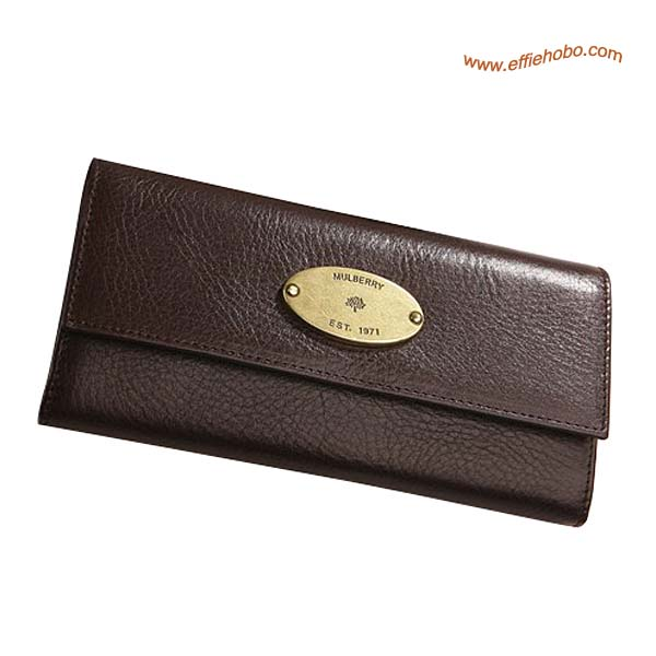Mulberry Classic Contential Purse Brown