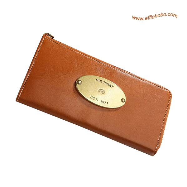 Mulberry Slim Purse Oak