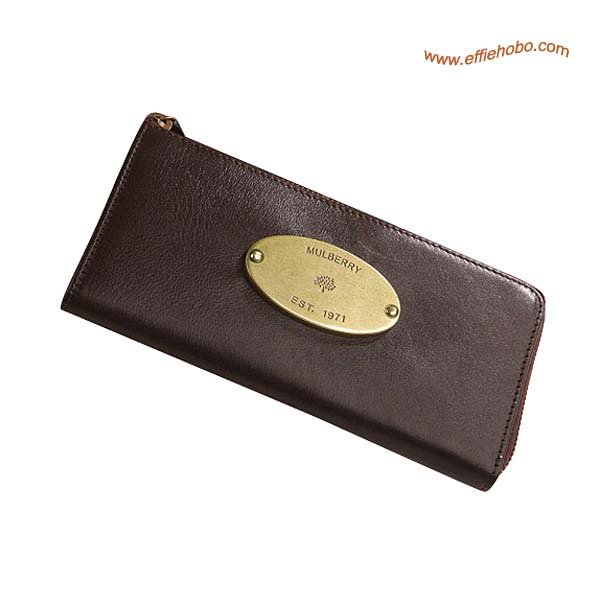 Mulberry Slim Purse Brown