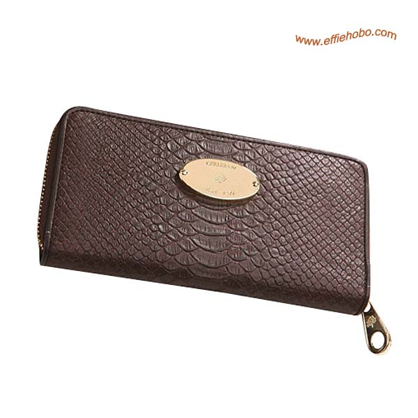 Mulberry Purse Brown