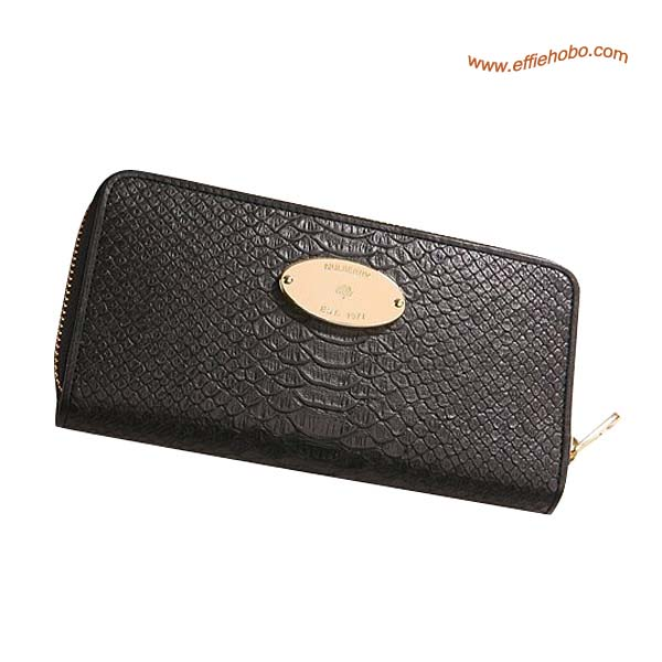 Mulberry Purse Black
