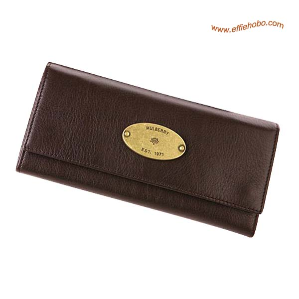 Mulberry Contential Purse Brown