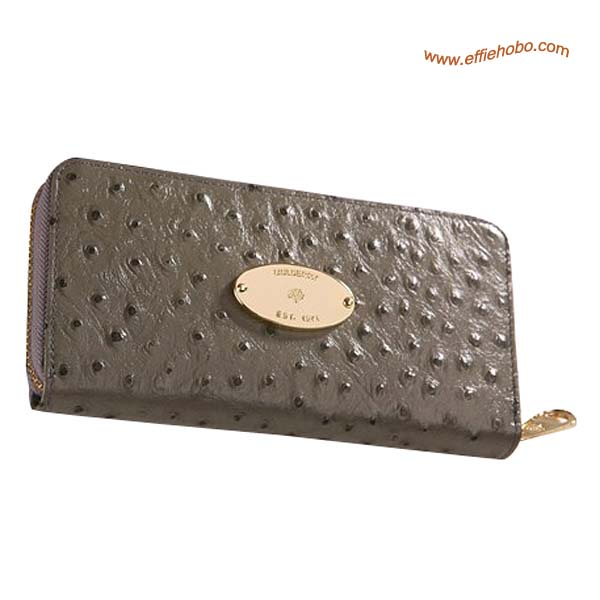 Mulberry Somerset Purse Gray