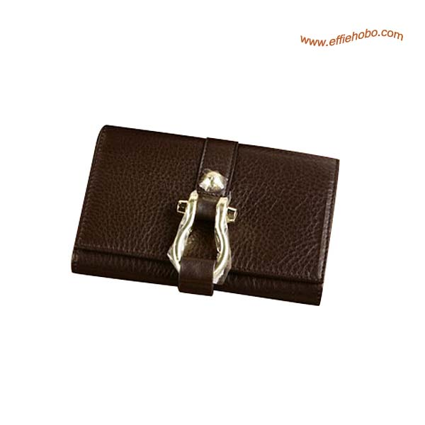 Mulberry Small Beatrice French Purse Brown