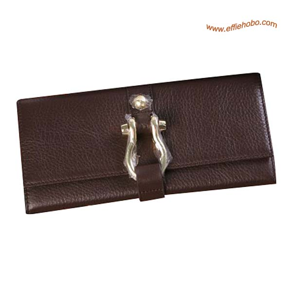 Mulberry Beatrice French Purse Brown