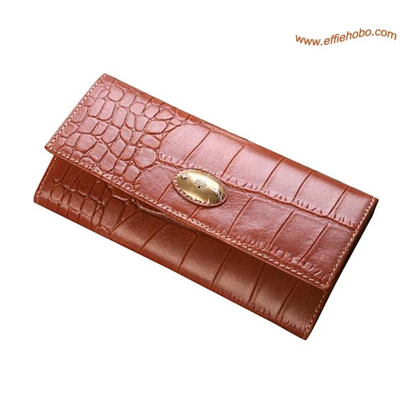 Mulberry Zip Purse Oak