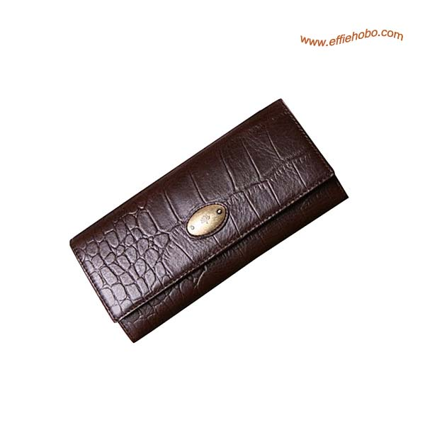 Mulberry Zip Purse Brown