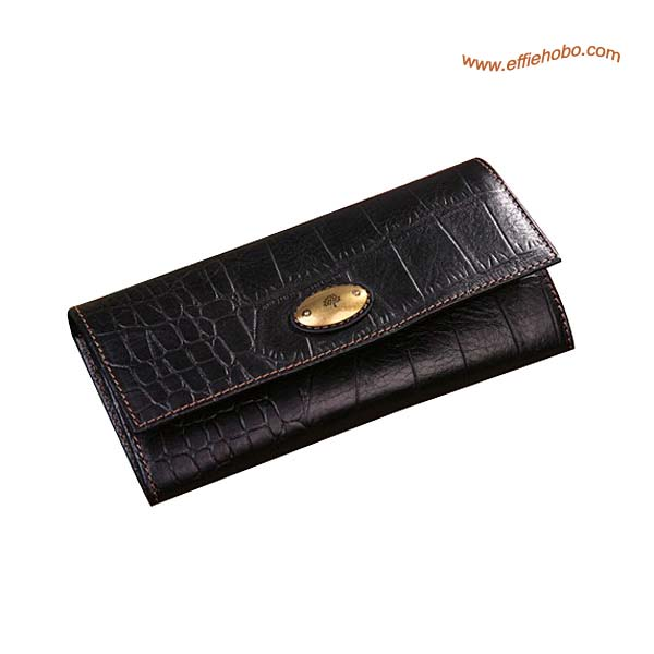 Mulberry Zip Purse Black