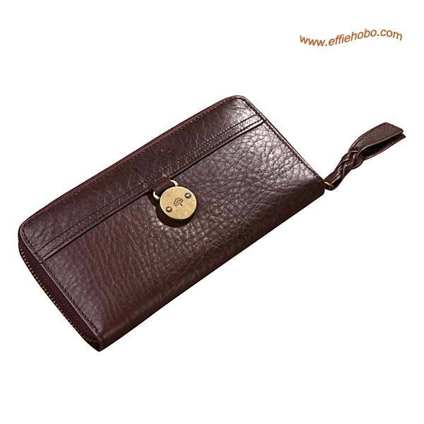 Mulberry Somerset Small Purse Brown