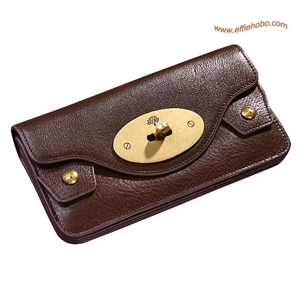 Mulberry Large Concertina Purse Brown