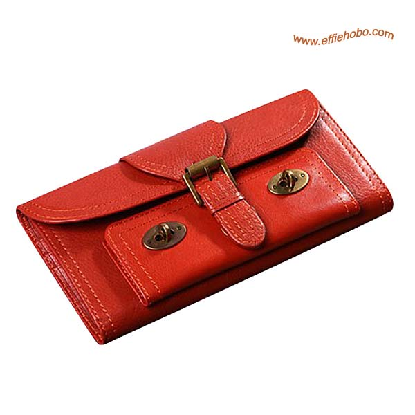 Mulberry 9 Card Lizzie Purse Salmon Pink
