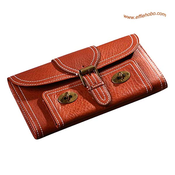 Mulberry 9 Card Lizzie Purse Oak
