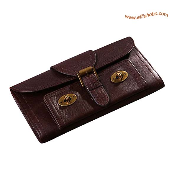 Mulberry 9 Card Lizzie Purse Brown