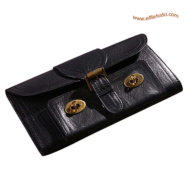 Mulberry 9 Card Lizzie Purse Black
