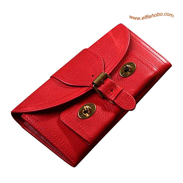 Mulberry 16 Card Lizzie Purse Red