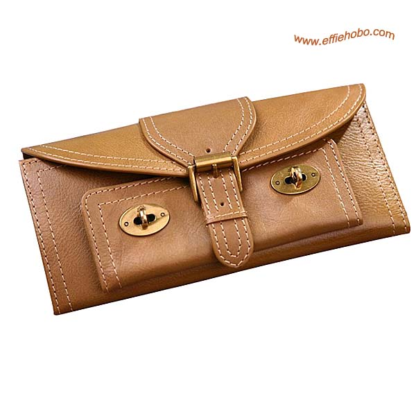 Mulberry 16 Card Lizzie Purse Khaki