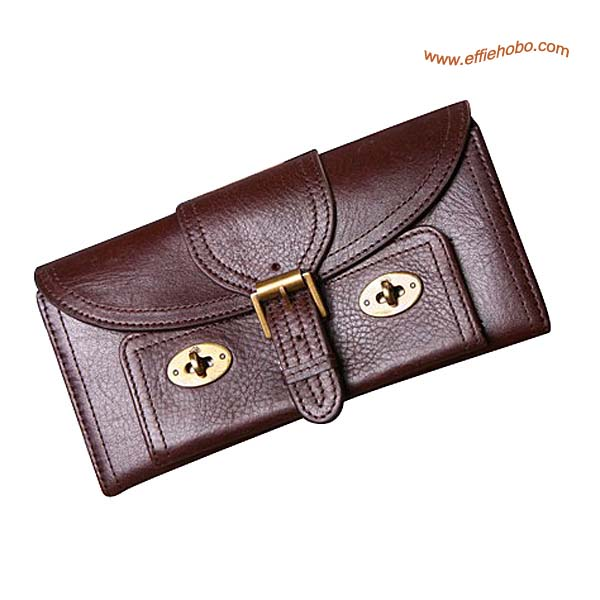 Mulberry 16 Card Lizzie Purse Brown