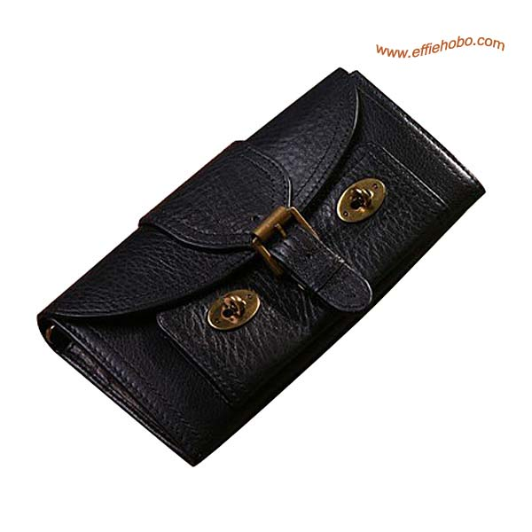 Mulberry 16 Card Lizzie Purse Black