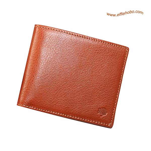 Mulberry Mens 8 Card Wallet Oak