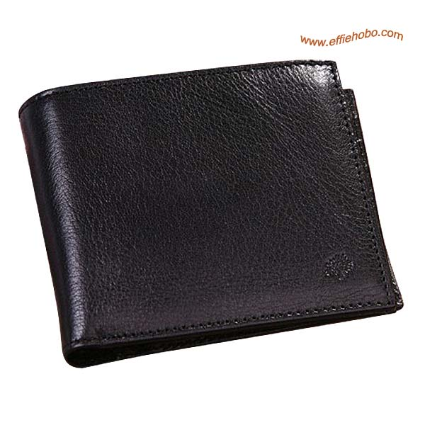 Mulberry Mens 8 Card Coin Wallet Black