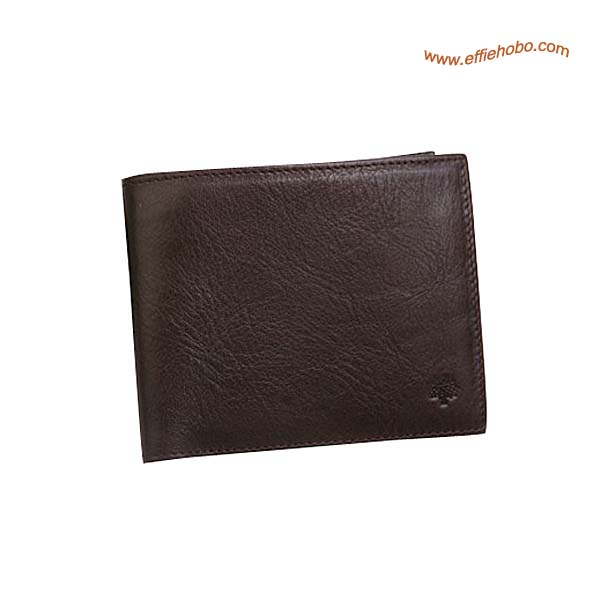 Mulberry Mens 12 Card Wallet Brown