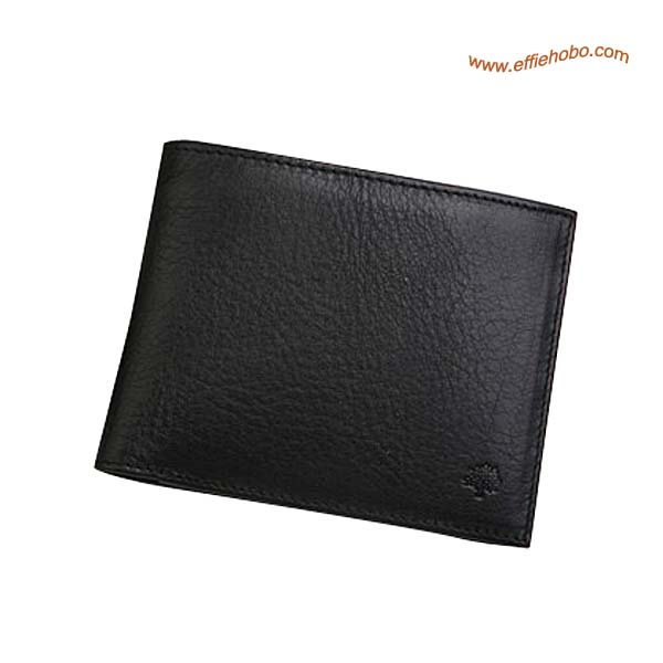 Mulberry Mens 12 Card Wallet Black