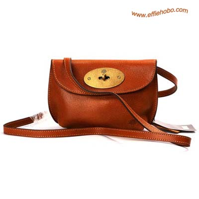 Mulberry Bayswater Leather Satchel Bag Oak