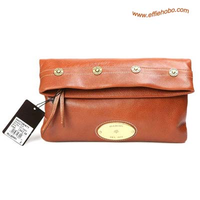 Mulberry Mitzy Clutch Bag Oak