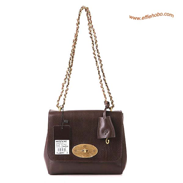 Mulberry Lily Shoulder Bag Brown