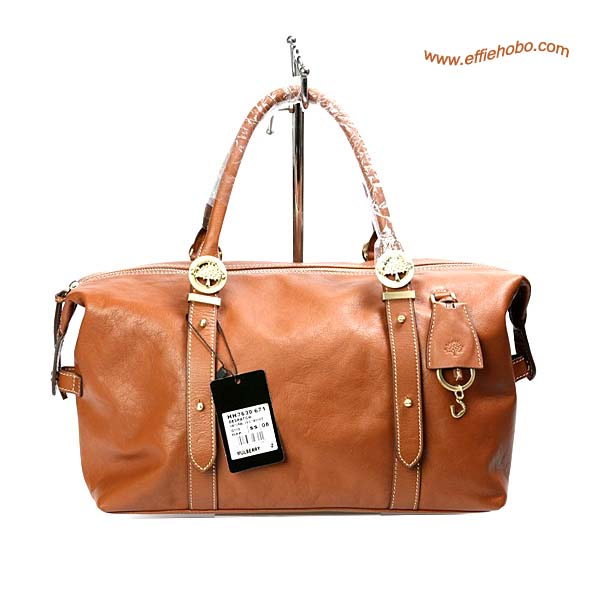 Mulberry Drew Clipper Leather Tote Bag Oak