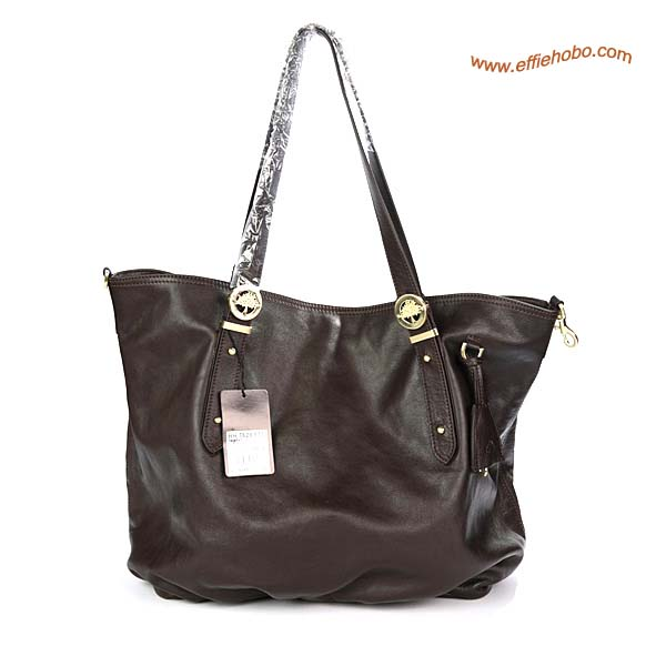 Mulberry Drew Leather Tote Bag Brown