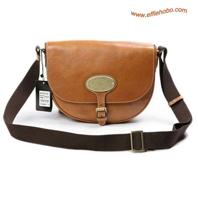 Mulberry Bonnie Leather Satchel Bag Oak Leather