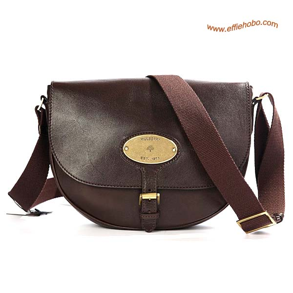 Mulberry Bonnie Leather Satchel Bag Brown Leather